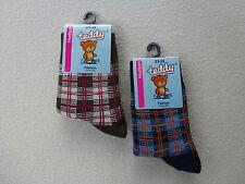 HUDSON Kindersocken Jungen Socken kariert (UVP 3,50 €) 70% Baumwolle Gr 23-26