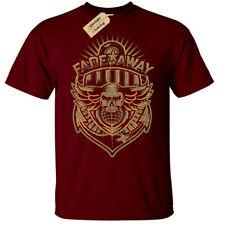 Fadeaway Anchor Skull T-Shirt Mens nautical gift skulls