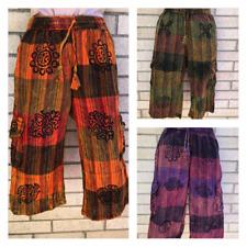 Patchwork UNISEX Cotton Shorts Trousers Hippy Yoga Half Pants Nepal FAIRTRADE