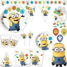 Minions Children Birthday Party Deco Decoration Set