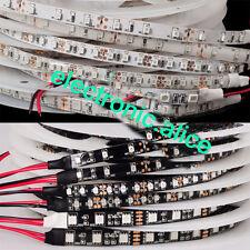 DC12V 3528/5050 UV Ultraviolet purple 60LED/M 300LED Strip light Black/White PCB