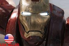 "Iron Man Marvel Super Hero 36"" x 24"" Large Wall Poster Print Fan Art Anime #01"