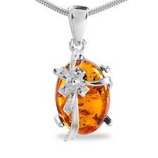 AMBRE BIJOUX PENDENTIF, pendentif pour collier en argent sterling 925