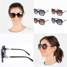 Mujeres de gran tamaño Gafas para sol Redondas Mariposa Bling Perla  degradado Lente Gafas Sombra 5421229246a3