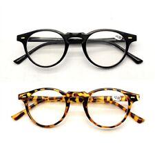Vendimia para hombre mujeres redondo clásico Gafas de lectura lectores A0619