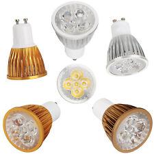 Dimmable GU10 LED Spotlight 9W 12W 15W Silver Golden Brown Shell Light Bulbs RD