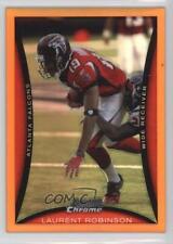 2008 Bowman Chrome Orange Refractor #BC184 Laurent Robinson Atlanta Falcons Card