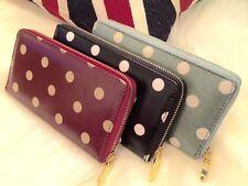 La mode pour femme en faux cuir embrayage Zipper long sac à main dame portefeuille porte-monnaie