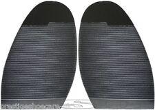Ribbed Stick On Soles DIY Shoe Repair Black Mens Ladies Extra Max Grip Anti Slip