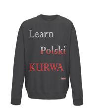 Learn Polski Black Sweatshirt