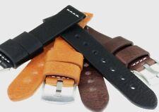Echtes Vintage Lederband in 3 tollen Farben und 4 Breiten