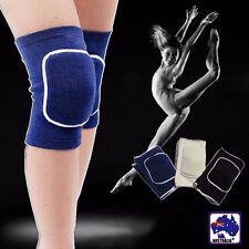 2x Leg Knee Support Brace Wrap Protector Cotton Pad Sleeve Outdoor Sport OKNEE42