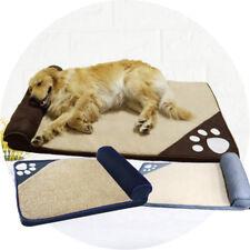 Hundebett Waschbar orthopädisch und Rutschfest Hundekissen Plüsch Warm bleiben
