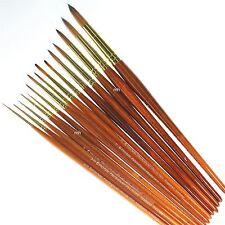 Pro Arte Series 007 Artists Paint Brush professional single brushes watercolour