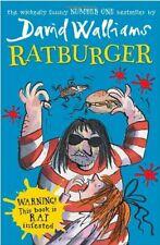 Ratburger by Walliams, David Book The Cheap Fast Free Post