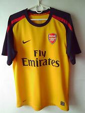 EXCELLENT!!! 2008-09 Arsenal Away Shirt Jersey L or XL