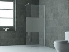 10mm Duschwand FREE-PF Frost Glas Duschabtrennung Dusche Duschtrennwand