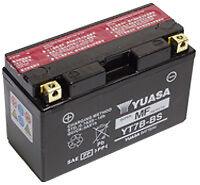 Batterie Yuasa YT7B-BS, Batterie de Moto, 12v 6.5ah, 120cca