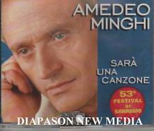 AMEDEO MINGHI SARA' UNA CANZONE CDs