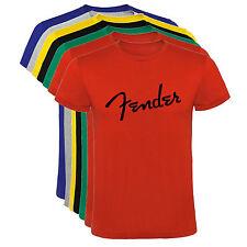 Camiseta Fender guitarras Stratocaster Hombre varias tallas y colores a024