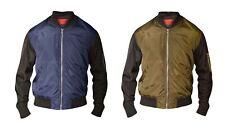 D555 doublé veste aviateur (louis) en taille 2XL à 8XL, 2 options de couleur