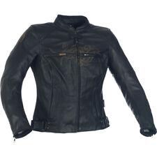 Richa Montana Damen Leder Motorradjacke schwarz