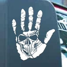 Hand Skull Vinyl Sticker Decal Apocalypse Undead Renegade Jeep Wave Graphic Car