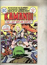 Kamandi The Last Boy On Earth #27-1975 fn+ Jack Kirby