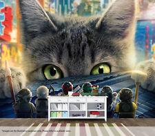 Lego Ninjago Movie Cat Wall Mural Art Quality Pastable Wallpaper Decal