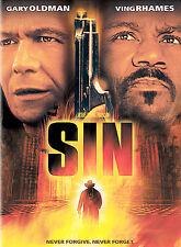 Sin DVD 2004 Kerry Washington, Ving Rhames, Gary Oldman Sealed