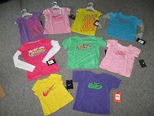NIKE Infant&Toddler Girl's Short or Long Sleeve TShirt, ALL Sizes,MSRP-$16-$26