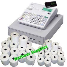 TILL ROLLS TO FIT - Casio SE-S2000 SES2000 SE-52000 SE52000 Cash Register