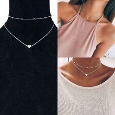 New Charming Women Pendant Chain Choker Chunky Statement Bib Necklace Jewelry