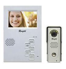 """Video Intercom System: Waterproof Door Camera & 4.3""""Hands-free Video Doorphone"""