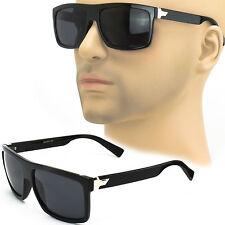 Mens Hipster Sunglasses  Black Frame Sport Eyewear Classic UV 100% Fashion