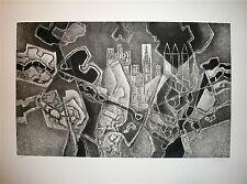 Georges Dayez gravure originale signée numérotée cubisme art cubiste Mourlot