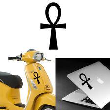 Key of Life vinyl sticker cut. Ankh, llave de la vida. Crux Ansata