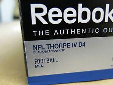 Reebok NFL Thorpe IV D4 Athletic Football Cleats Shoes NIB SAVE!!