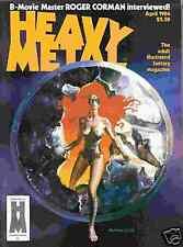 Heavy Metal # 1984/4 (Liberatore, Crepax, Burns) (USA)