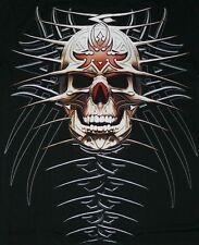 Biker t-shirt: taille xl, tête de mort chopper skull aigle GOTHIK moto rider tatouage