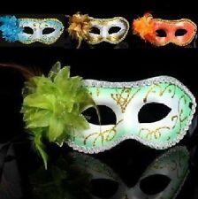 SEXY Máscara flores blute de pestañas Veneciano Mascarilla CARNAVAL 4