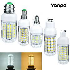 LED Corn Light Bulb E27 E14 E12 E26 5730 SMD 30W - 90W Equivalent Bright Lamp RC