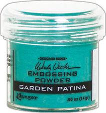 Wendy Vecchi Embossing Powder -Garden Patina, WEP-49050