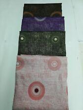Scampolo tessuto d'amascato fantasia con cerchio 280x280 cm. B270