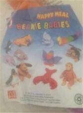 MCDONALDS Happy Meal Toy USA Teenie Beanie Babies Animali-Vari