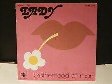 BROTHERHOOD OF MAN Lady 45PY3138