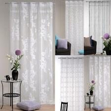 dekoschal Jacquard cortina 140x235cm estores Pasaje de la barra transparente