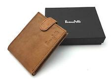Herren Designer Qualität Echtleder Portemonnaie Kreditkartenhalter Geschenk
