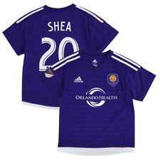 Brek Shea MLS Adidas Orlando City SC Home Purple Soccer Replica Jersey Boys 4-7