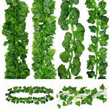 Home Green Fake Plant Artificial Lvy Vine Flowers Fake Foliage Wedding Grape